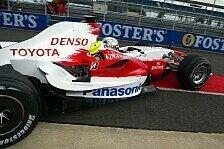Formel 1 - Trulli h�lt Toyota vorne: Silverstone, Tag 2