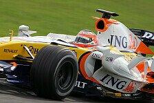 Formel 1 - Angeblich werden es Kovalainen und Piquet: Entscheidung bei Renault
