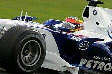 Formel 1 - Bereit f�r den Fall der F�lle: Glock klettert weiter