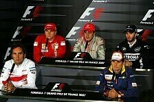 Formel 1 - Alonso nimmt Stellung: Die Donnerstags-PK