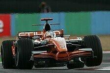 Formel 1 - Durchkommen und nach vorne sp�len lassen: Adrian Sutil