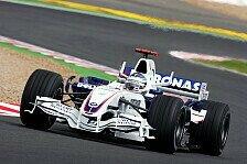 Formel 1 - Den R�cken geschont