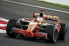 Formel 1 - Zu weit weg: Spyker fehlen die Fortschritte
