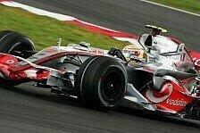 Formel 1 - Hamilton bezwingt Ferrari: 3. Freies Training