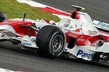 Formel 1 - Probleme am problemfreien Freitag: Toyota