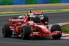 Formel 1 - R�ikk�nen taktiert sich zum Sieg: Frankreich GP