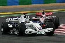 Formel 1 - Alle H�nde voll zu tun: Heidfeld vs. Alonso