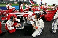 Formel 1 - Kein gutes Wochenende: Super Aguri mit vielen Baustellen