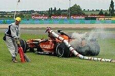Formel 1 - Spyker hofft auf Heimvorteil und Regen: Vor Silverstone