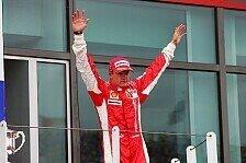 Formel 1 - In Indianapolis sind wir nicht gestorben: Ferrari feiert