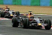 Formel 1 - Gegenseitig im Weg: Coulthard hing hinter Webber