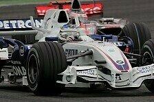 Formel 1 - Sehr zufrieden: Heidfelds Halbzeitbilanz