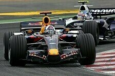 Formel 1 - Coulthards Eltern und Webbers Esel: RBR-Lackierung in Silverstone