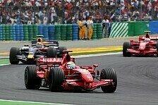 Formel 1 - Massa sieht Ferrari im Vorteil: Vor Silverstone