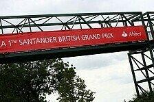 Formel 1 - Neuer Rettungsvorschlag : Gro�britannien GP in Silverstone