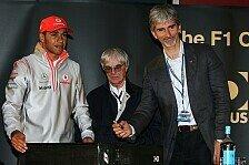 Formel 1 - Mehr Druck: Hill sorgt sich um Hamilton