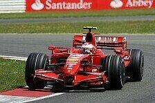 Formel 1 - Ich will vor allen sein: Auch R�ikk�nen gibt nicht auf