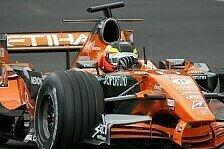 Formel 1 - Auch Spyker testete: Nicht in Jerez, nicht in Mugello