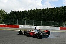 Formel 1 - Hamilton dreht auf: Spa-Francorchamps, Tag 1