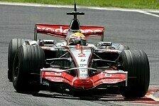 Formel 1 - Hamilton f�hrt Bestzeit: 1. Freies Training