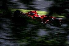 Formel 1 - Massa bis der Regen kam: Spa-Francorchamps, Tag 2
