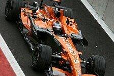 Formel 1 - Kennenlerntag: Kliens erster Spyker-Test
