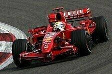 Formel 1 - Konkurrenzf�hig: Ferrari hat noch Verbesserungspotenzial