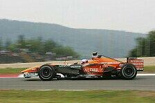 Formel 1 - Ein akzeptabler Beginn: Winkelhock �rgert nur der Dreher