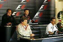Formel 1 - Von Spionage bis zur Zuverl�ssigkeit: Freitags-Pressekonferenz