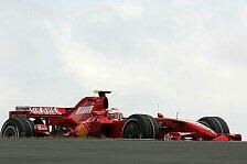 Formel 1 - R�ikk�nen gibt die Pace vor: 3. Freies Training