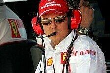 Formel 1 - Der J�ngere war das Zeichen: Michael Schumacher zu seinem R�cktritt
