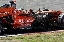 Formel 1 - Mit der Entt�uschung leben: Spykers R�ckstand ist gewachsen