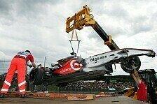 Formel 1 - McLaren atmet auf: Es geht Hamilton gut - Entscheidung am Sonntag
