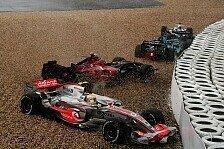 Formel 1 - Chaostag in der Eifel: Europa GP