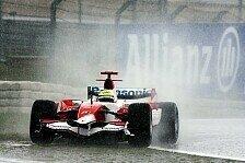 Formel 1 - Zur falschen Zeit am falschen Ort: Toyota geriet ins Schwimmen