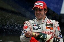 Formel 1 - Tag des Delfins: F�nfter Saisonsieg f�r McLaren
