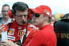 Formel 1 - Noch nicht aufgegeben: Kimi bleibt entschlossen