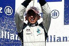GP2 - F�nftes Podium in Serie: Kazuki Nakajima konstant