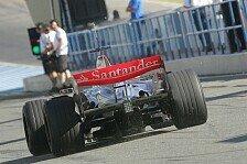 Formel 1 - De la Rosa deutlich vorne: Erster Testtag in Jerez