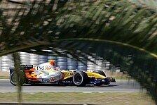 Formel 1 - Neue Teile, alter Optimismus: Renault weiter guter Dinge