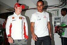 Formel 1 - Auch Kimi stichelt gegen McLaren: Nach Massa