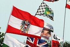 Formel 1 - Motorsport vom Feinsten zum Anfassen: Berger: �sterreich-Comeback gro�artig f�r Fans