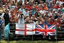 Formel 1 - Organisatoren für britisches Wetter gerüstet