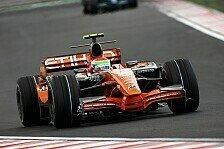 Formel 1 - Im Rennen ok, im Quali zu langsam: Die zwei Spyker-Gesichter