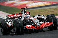 Formel 1 - Vier 2. Pl�tze: McLaren-Akkus sind aufgeladen