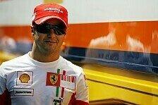 Formel 1 - Er hat kein Problem mit dem Teamkollegen: Massa stichelt nach
