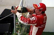 Formel 1 - Nichts zu verlieren: Kimi setzt auf volles Risiko