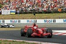 Formel 1 - Ferrari ist am Dr�cker: 1. Freies Training