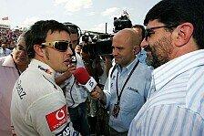 Formel 1 - Kein Ende der Wechselger�chte: Alonso und McLaren
