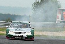 Mehr Motorsport - Kaffer in Most: Gastauftritt im Mercedes